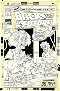 Back To The Future Time Train #1 25 Copy Incv (Net)