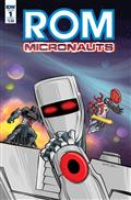 Rom & The Micronauts #1 (of 5) Cvr A Wentworth *Special Discount*