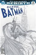 All Star Batman #1 Aspen B&W Var Set *Allocations May Occur*