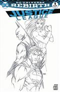 Justice League #1 Aspen B&W Var Set *Allocations May Occur*