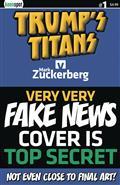 Trumps Titans vs Mark Zuckerberg #1 Cvr C Very Very Fake New