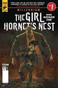 Millennium Girl Who Kicked The Hortnets Nest #1 Cvr B Book V