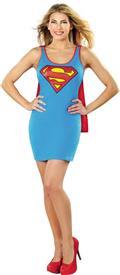 DC Superman Cape Tank Dress Lg (C: 1-0-2)