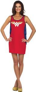 DC Wonder Woman Cape Tank Dress Lg (C: 1-0-2)