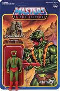 Motu 3.75In Reaction Figure Wave 3 Kobra Khan (Net) (C: 1-1-