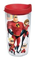 The Incredibles Family 16Oz Tumbler W/ Red Lid (C: 1-1-2)