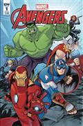 Avengers (Idw) #1 Sommariva