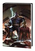 Thanos Wars Infinity Origin Omnibus HC Lee Var