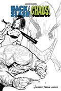 Hack Slash vs Chaos #1 30 Copy Strahm B&W Incv (Net)