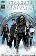 Stargate Atlantis Hearts & Minds #1 Larocque Cvr