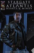 Stargate Atlantis Hearts & Minds #1 Limited Dan Parsons B/W