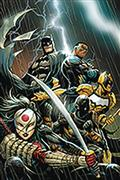 DF Batman Outsiders #1 Elite Gold Sgn Hill (C: 0-1-2)