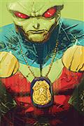 DF Martian Manhunter #1 Sgn Orlando (C: 0-1-2)
