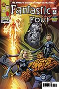 DF Fantastic Four #1 Midtown Exc Sgn Mark Bagley (C: 0-1-2)