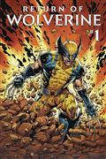 DF Return of Wolverine #1 Sgn Romita Sr (C: 0-1-2)