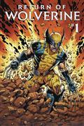 DF Return of Wolverine #1 Silver Sgn Romita Sr (C: 0-1-2)