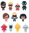 Disney Incredibles 3D Figural Keyring 24Pc Ser2 Bmb Dis (C: