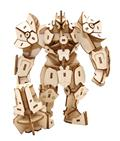 Incredibuilds Ow Reinhardt 3D Wood Model & Poster (C: 1-1-2)