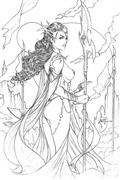 Dejah Thoris (2019) #1 10 Copy Tucci Pencil Incv