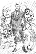 James Bond #1 20 Copy Cheung Pencil Incv