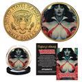 Vampirella #2 Stanley Artgerm Lau Coll Coin (C: 0-1-2)