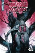Vampirella Red Sonja #4 Cvr A Tedesco