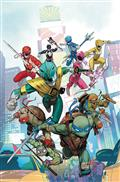 Power Rangers Teenage Mutant Ninja Turtles #1 Cvr A Mora (C: