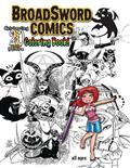 TAROT-MORE-20-YEARS-BROADSWORD-COMICS-COLORING-BOOK-(C-0-