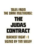 DF Tales From Dark Multiverse Judas Contract #1 Sgn Raney