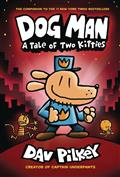 DOG-MAN-HC-GN-W-DUST-JACKET-VOL-03-TALE-OF-TWO-KITTIES-(C-0