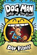 DOG-MAN-HC-GN-W-DUST-JACKET-VOL-05-LORD-OF-FLEAS-(C-0-1-0)