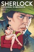 Sherlock Scandal In Belgravia #1 Cvr E Blank Conrad