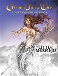 GRIMM-FAIRY-TALES-ADULT-COLORING-BOOK-THE-LITTLE-MERMAID