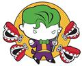 DC Chibi Joker Pin (C: 1-1-1)