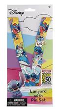 Lilo And Stitch Con Exclusive Lanyard W/3Pc Pin Set (C: 1-1-