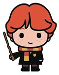 Harry Potter Charm Magnet Ron (C: 1-1-1)