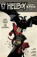 Hellboy & BPRD Her Fatal Hour Cvr B Mignola