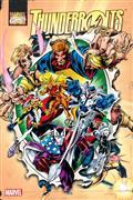 Thunderbolts Omnibus HC Vol 01 Bagley Annual Dm Var