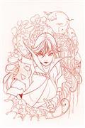 Die!Namite #1 Momoko Vampirella Blood Red Line Art Virgin Cv