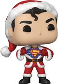 Pop Heroes DC Holiday Superman W/ Sweater Vin Fig (C: 1-1-2)