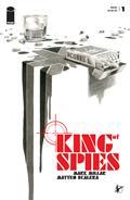 King of Spies #1 (of 4) Cvr B Scalera B&W (MR)