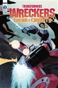 Transformers Wreckers Tread & Circuits #3 (of 4) Cvr A Thoma