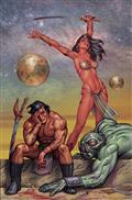 Dejah Thoris vs John Carter of Mars #6 Cvr J Linsner Ltd Vir