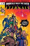 Eternals #8 Castellani Mcu Var