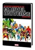 Official Handbook Marvel 89 Omnibus HC Dm Var