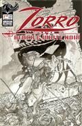 Zorro Black & White Noir #1 Cvr A Kaluta