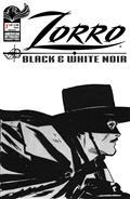 Zorro Black & White Noir #1 Cvr B Toth