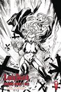 Lady Death Blasphemy Anthem #1 (of 2) Raw Ed (MR)