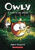 OWLY-COLOR-ED-GN-VOL-04-TIME-TO-BE-BRAVE-(C-0-1-0)