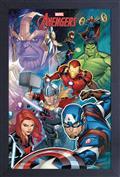 Marvel Thanos 11X17 Framed Print (C: 1-1-2)